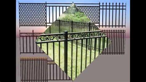 awnings iron fence stainless steel fence      estimates youtube