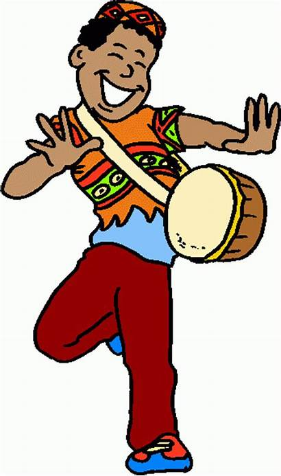 Clip Clipart Africa African Drums Drummer Cliparts