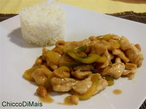 cucinare mais pollo kung pao ricetta cinese