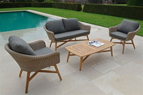 canape jardin resine tressee beautiful salon de jardin bas teck pictures amazing