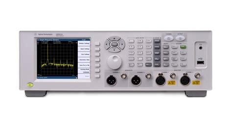 Agilent Technologies' Versatile Audio Analyzer Easily ...