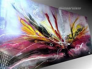Tableau Contemporain Grand Format : tableau grand format peinture abstraite vente en ligne tableaux abstraits ~ Teatrodelosmanantiales.com Idées de Décoration