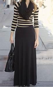 Solid Flared Maxi Skirt | Long maxi skirts