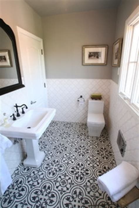 how to make a kitchen sink cement tiles create bold contrast in a bathroom 8738