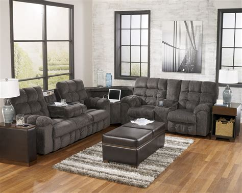 Sectional Sofas With Recliners And Cup Holders by Reclining Fabric Sectionals