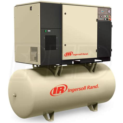 Ingersoll Rand Compressed Air by Ingersoll Rand Up6 7 5 150 460 3 N 7 5 Hp 80 Gallon Rotary