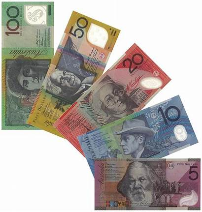 Australian Aud Dollar Currency Notes Banknotes Australia