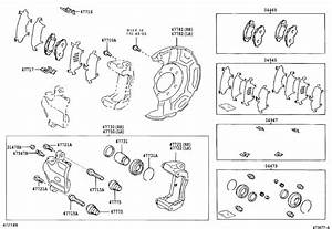 Toyota Prius Ring  Set For Front Disc Brake Piston