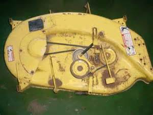 john deere 111 mower belt diagram