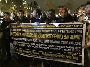 French Muslims join mourners to condemn Paris attacks at ...