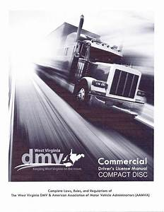Commercial Driver Manual For Cdl Training  West Virginia