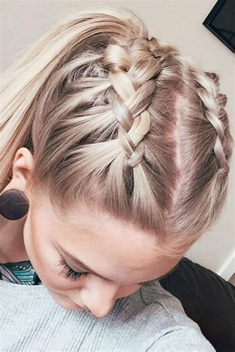 easy summer hairstyles    braids  long