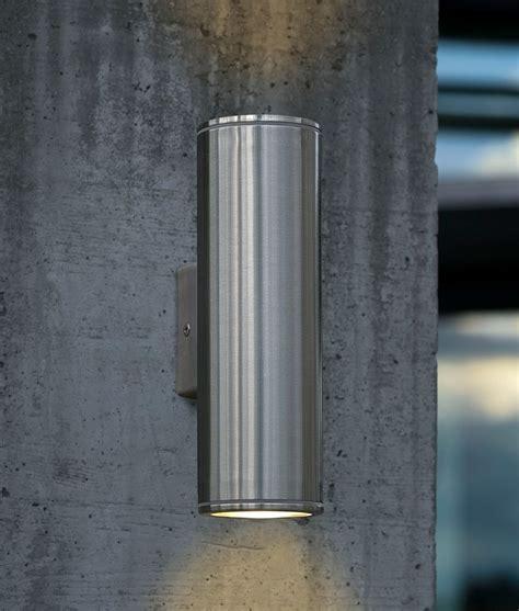 exterior up wall light h 200mm