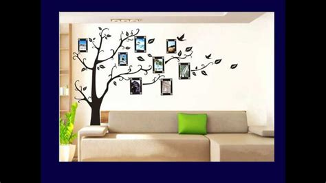 Wall Painting Stencils Youtube Family Tree Wall Decal Youtube