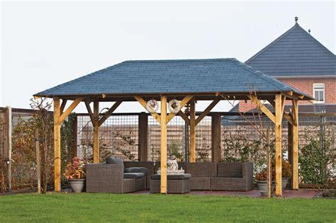 Superior Wooden Garden Gazebo | Buy 5.9m x 3.4m Garden ...
