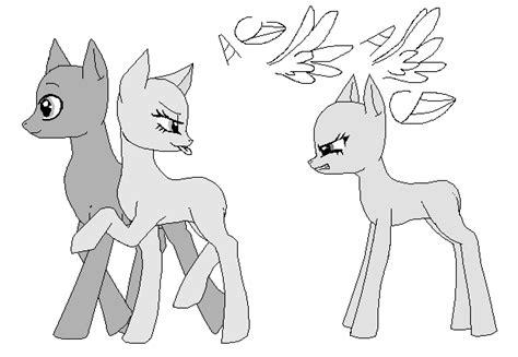 Fim- Pony Base By Astralthenightwolf On Deviantart