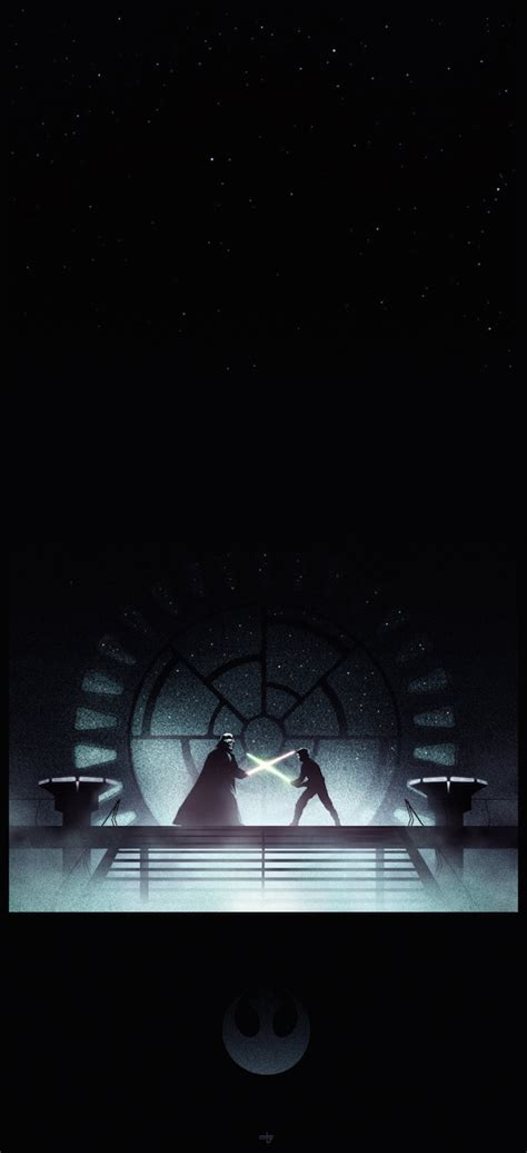 dramatic posters highlight  epic lightsaber duels