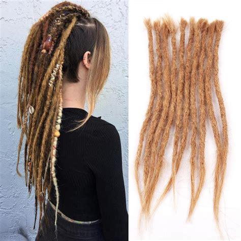 Dsoar Women With Dreads Colored 27 Human Hair Dreadlock