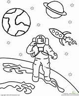 Space Outer Coloring Astronaut Worksheets Theme Education Astronauts Preschool Worksheet Activities Clipart Armstrong Kindergarten Neil Ausmalen Weltraum Weltall Printable Vorschule sketch template