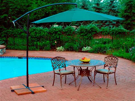 sun protection with patio umbrellas