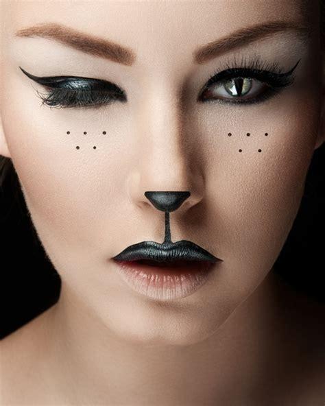cat halloween makeup cathy