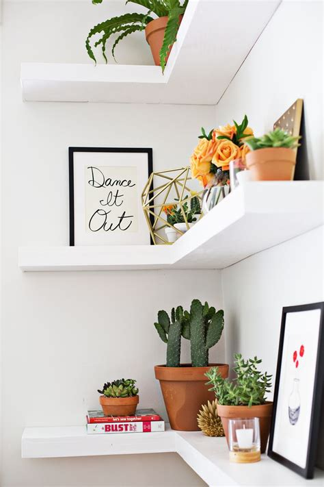 Diy Floating Corner Shelves  A Beautiful Mess