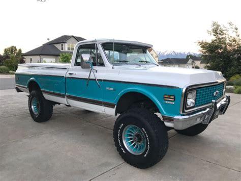 1971 Chevrolet Cheyenne 4x4 34 Ton Longbed Pickup Truck