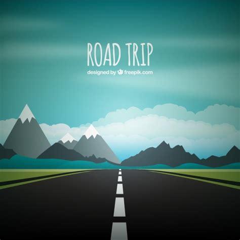 road trip fond telecharger des vecteurs gratuitement