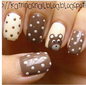 52 best images about teddy bear nail art tutorial & videos ...