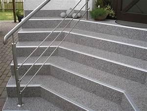 Betontreppe Sanieren Aussen : terrasse balkon treppe steinteppich kassel bogisch bausysteme ~ Frokenaadalensverden.com Haus und Dekorationen