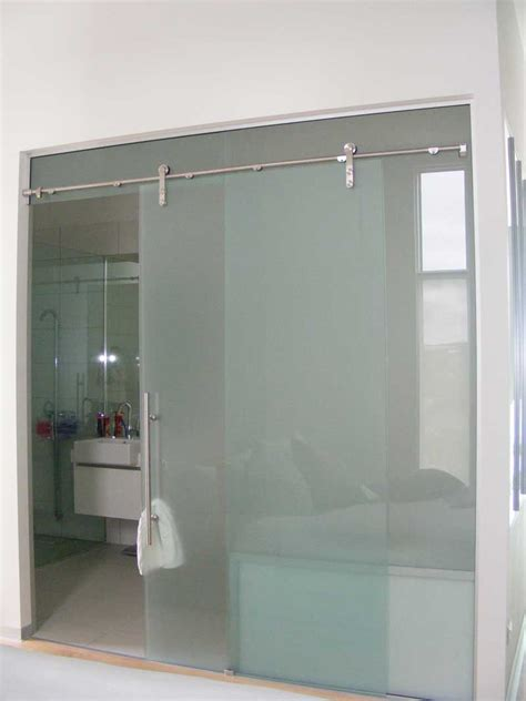 stylish frameless sliding shower doors home design by