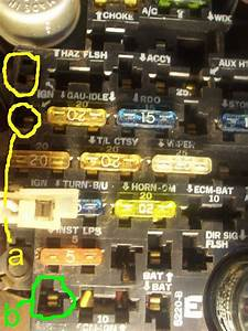 34 1986 Chevy Truck Fuse Panel Diagram