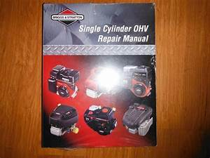 Briggs Stratton Ohv Service Manual