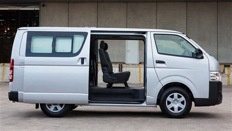Review Toyota Hiace by Toyota Hiace Lwb Crew 2017 Review Carsguide