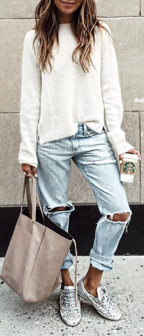 Outfits Club 40 Outfit Ideas To Wear Your Boyfriend Jeans And Still Look Awesome