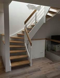 Peinture Bois Interieur : peindre escalier bois simple beautiful peinture escalier ~ Dallasstarsshop.com Idées de Décoration
