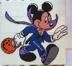 Deco Kdo Nat  Perles Hama  Mickey Costume Vampire