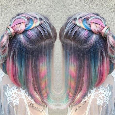 These Photos Of Tie Dye Hair Will Blow Your Magical