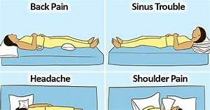 what is the right position to sleep for each of these With best sleeping position for shoulder pain