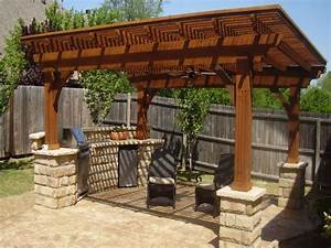 Detached Wood Patio Covers  Shades