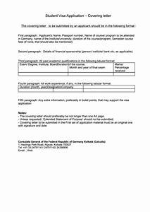 Student, Visa, Application, Cover, Letter, Printable, Pdf, Download