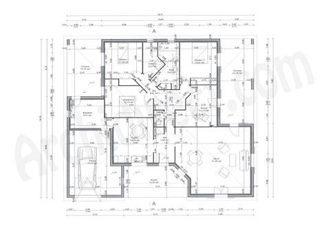plan de maison 2 chambres plan maison plain pied 2 chambres maison moderne