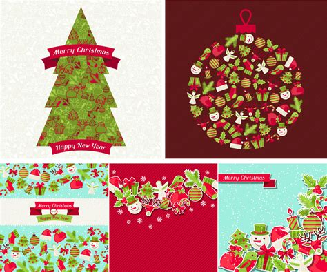 merry christmas from vectips christmas vector roundup vectips