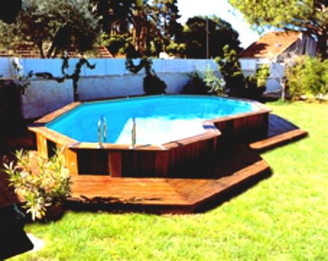 Backyard Swimming Pools Above Ground by Above Ground Pool Patio Backyard Ideas Oval Deck Plans