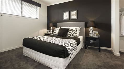 chambre en noir et blanc deco de chambre noir et blanc