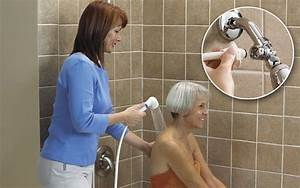 Assist with bathing assisted bather system bathing for How to make bathroom safe for elderly