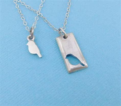 bird mother daughter necklace set emily jane designs