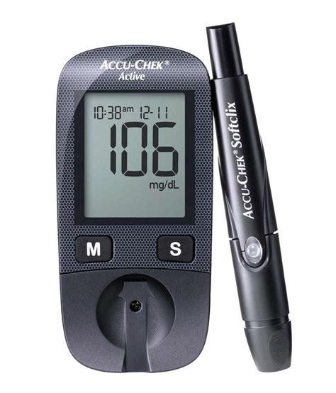 accu chek active glucose monitor   test strips buy