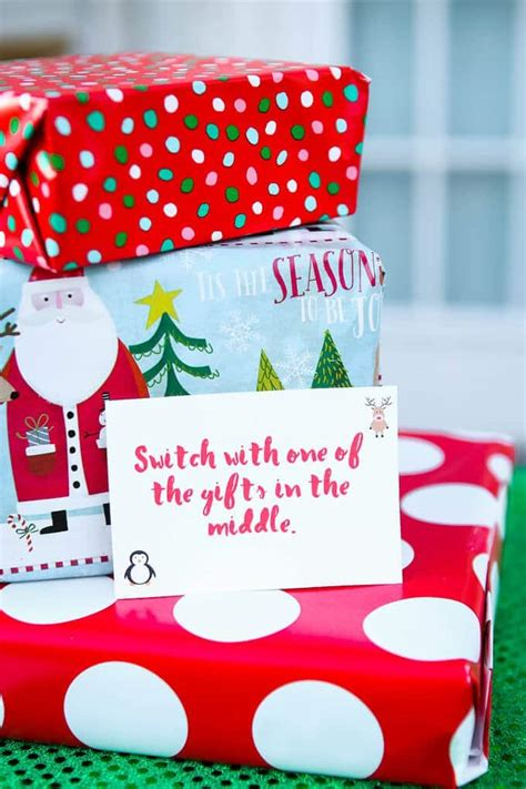 Maybe you would like to learn more about one of these? Free Printable Exchange Cards for The Best Holiday Gift Exchange