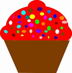 Cupcake Brown Clip Art at Clker.com - vector clip art ...